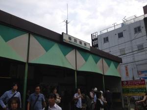 南武線の稲田堤駅から京王線の京王稲田堤駅に歩いて乗り換えてみた