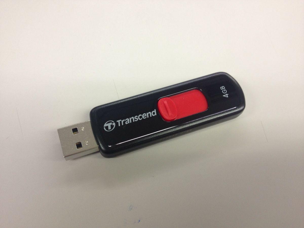Transcend(トランセンド)のUSBメモリ4GBを購入しました