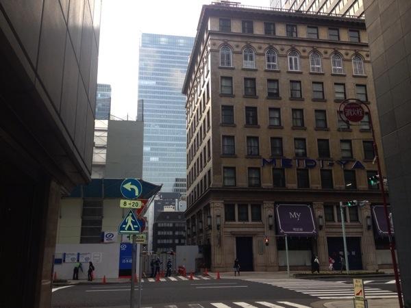 「明治屋京橋ストアー(京橋)」再開発工事により一時休業