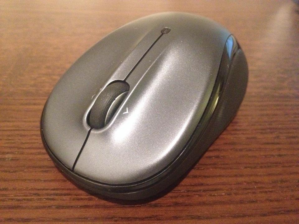 ロジクール ワイヤレスマウス M325は小さいから持ち運びしやすい