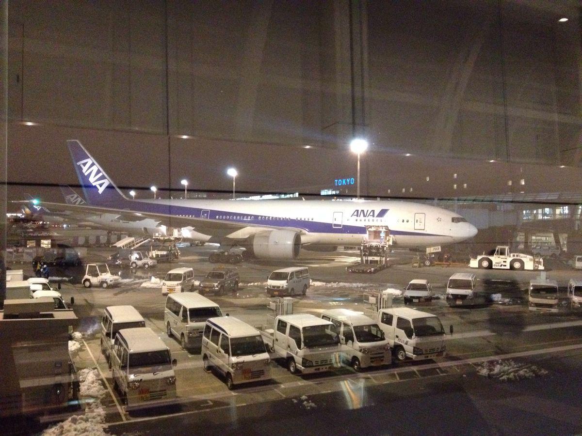 東京ー大阪間を飛行機で往復してみました