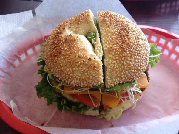 サンフランシスコでベーグルのサンドウィッチを食べてみた。POSH BAGEL編
