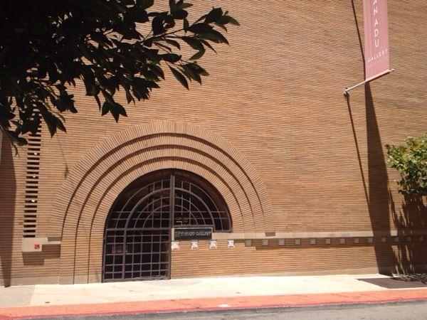 サンフランシスコで建築家フランク・ロイド・ライト設計の建造物を見た