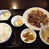 八丁堀の中華「さくら」で黒胡椒レバを食べて体力復活