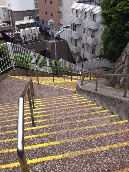 横浜の階段