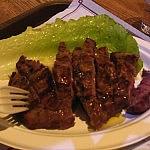 フィレンツェの中央市場で牛肉のステーキを食べてみた