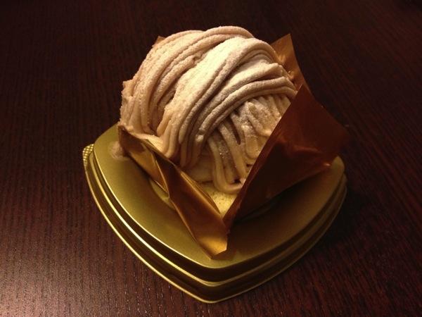 イタリア栗のクリーミーモンブラン