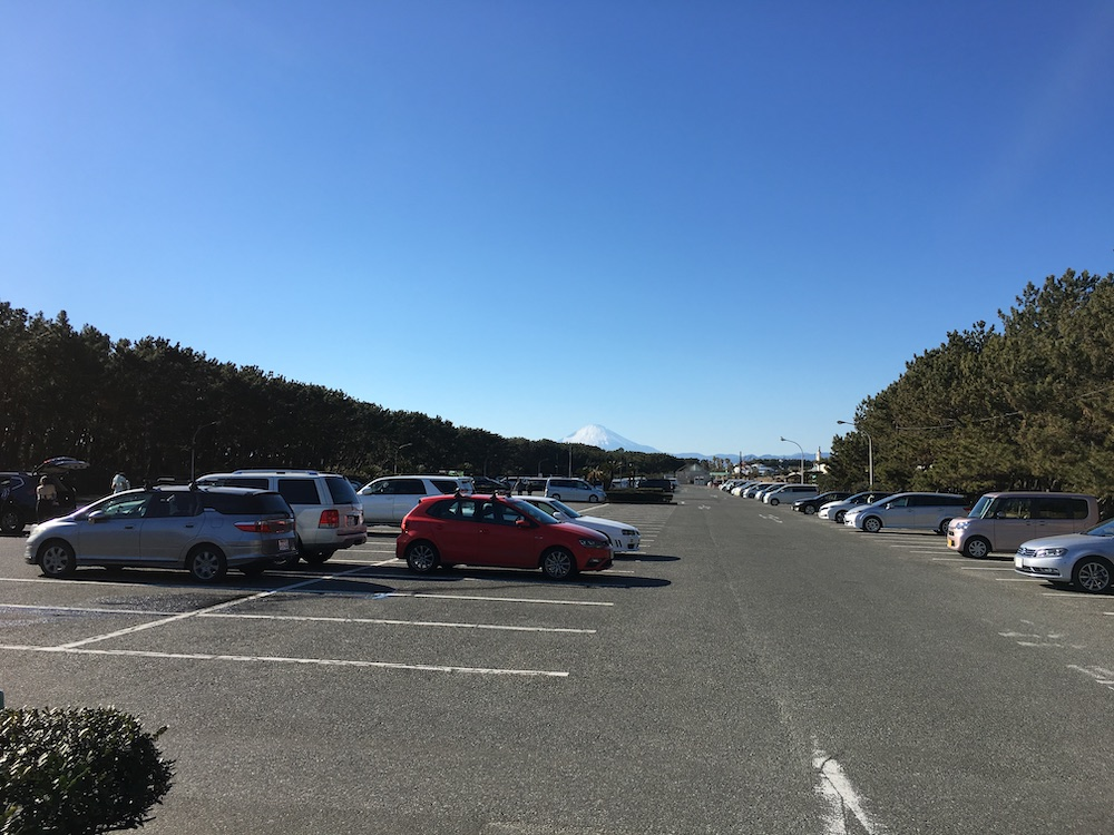 辻堂海浜公園 東駐車場