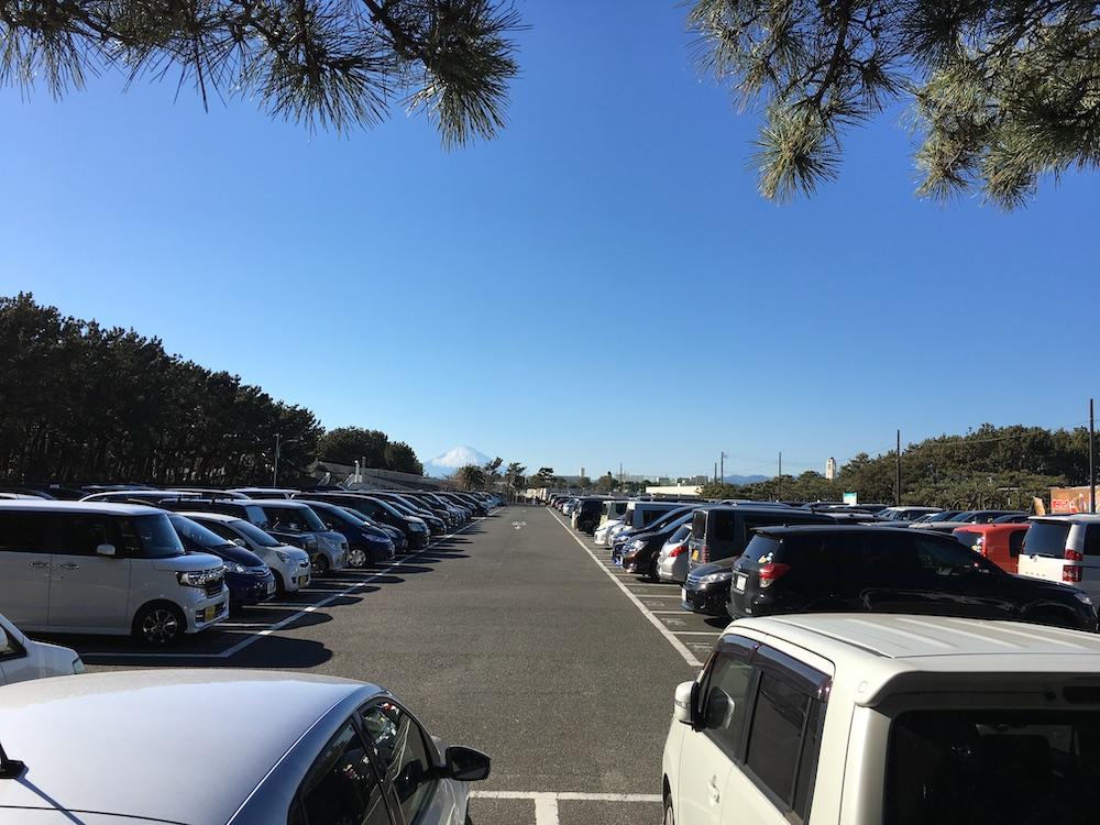 辻堂海浜公園 西駐車場