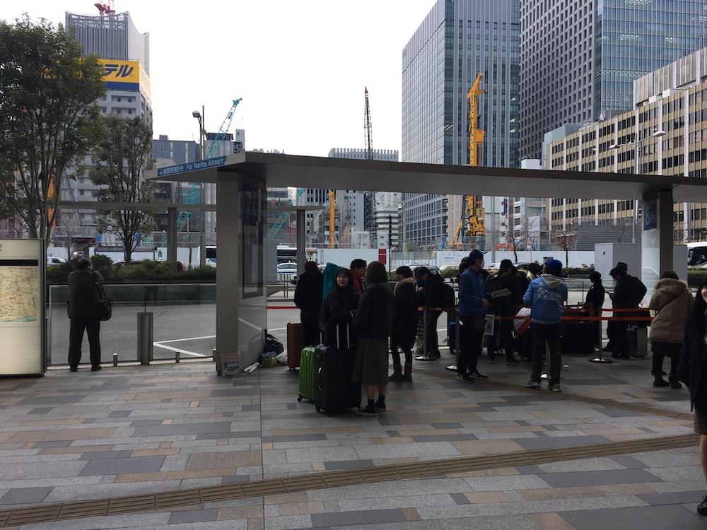 東京駅(JRハイウェイバスのりば)
