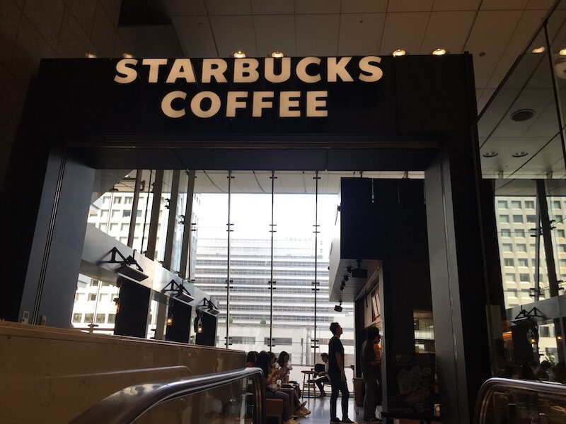 スタバJR東京駅日本橋口店