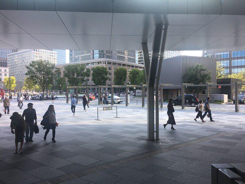 東京駅タクシー乗り場