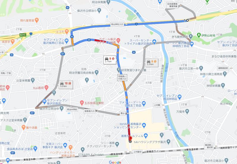 湘南モールフィル駐車場